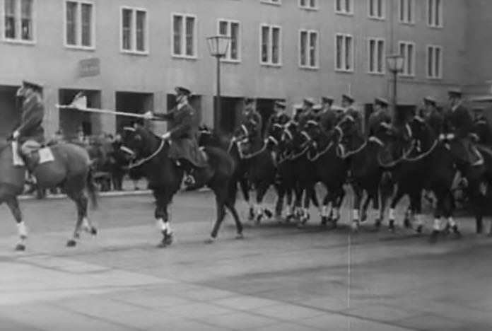 Berlin Horse plaltoon